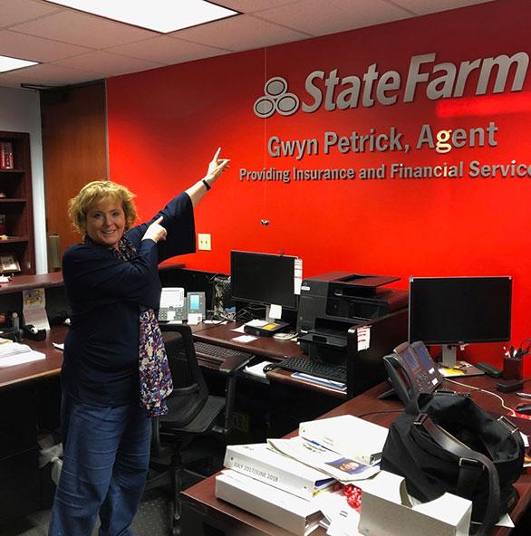Gwen Petrick, State Farm