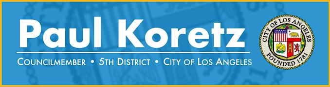 Councilman Paul Koretz logo