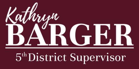 Kathy Barger 5th District Supervisor log