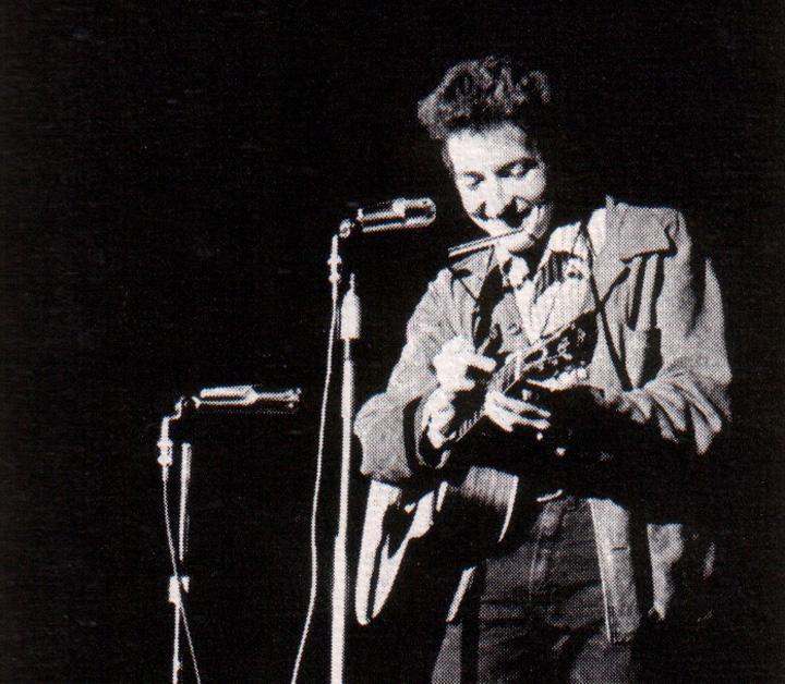 Bob Dylan 1963 photo