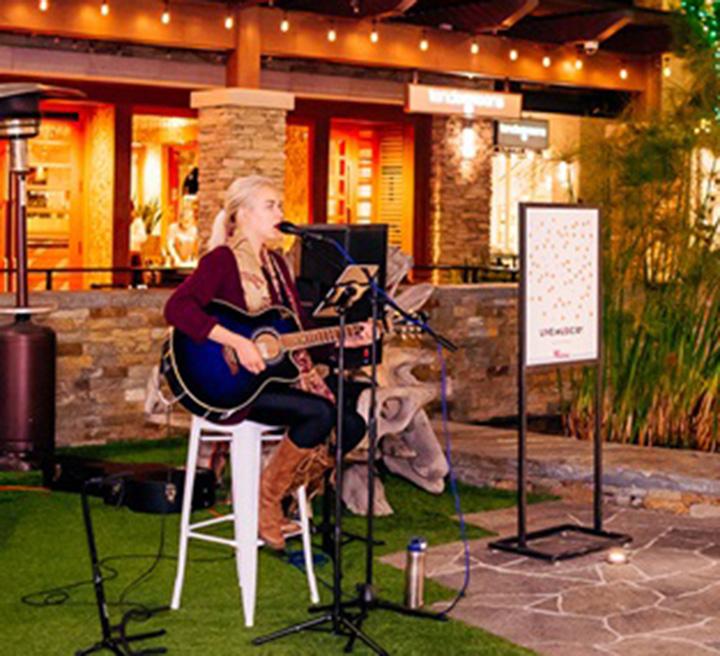 Westfield Topanga musical holiday joy photo